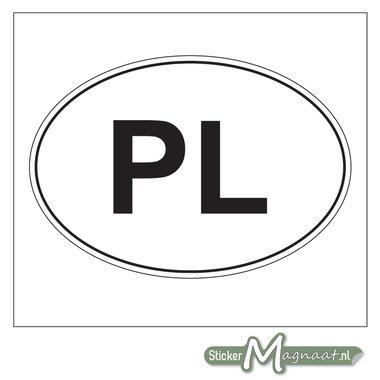 Landen Stickers Polen