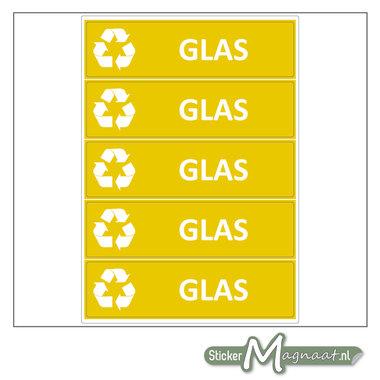 Kliko stickers Glas