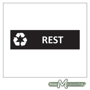Kliko sticker Restafval