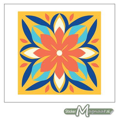 Tegelstickers Kleurrijk