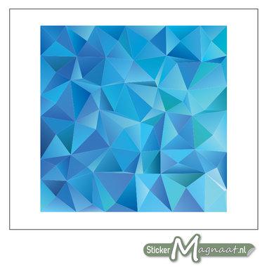 Tegelstickers Abstract Blauw
