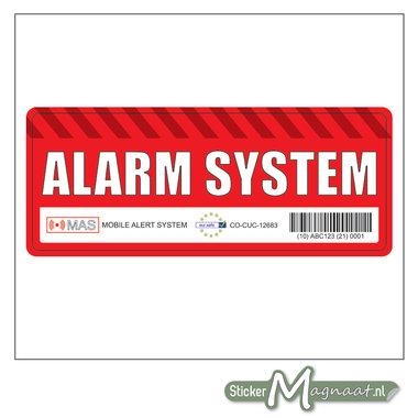 Alarm System Sticker