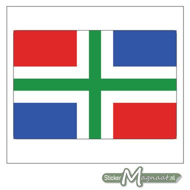 Vlag Groningen Stickers