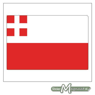Vlag Utrecht Stickers