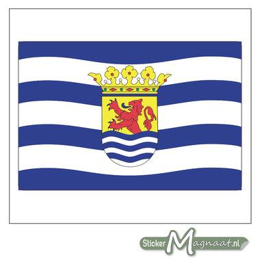 Vlag Zeeland Stickers