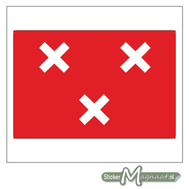 Vlag Breda Stickers