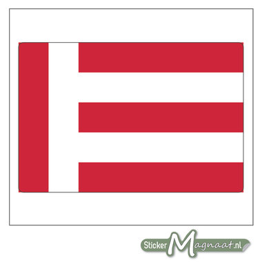 Vlag Eindhoven Stickers