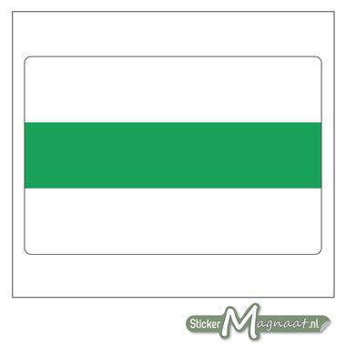Vlag Groningen Sticker