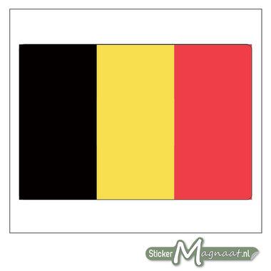Vlag België Sticker