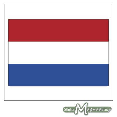Vlag Nederland Sticker