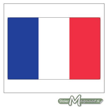 Vlag Frankrijk Sticker