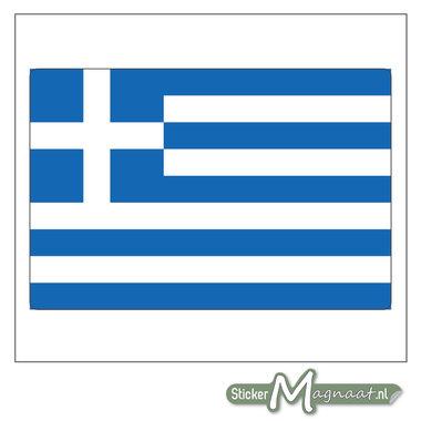 Vlag Griekenland Sticker
