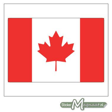 Vlag Canada Sticker