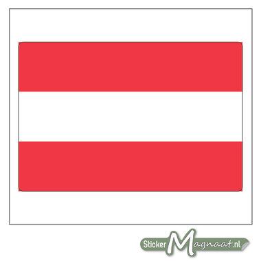 Vlag Oostenrijk Sticker