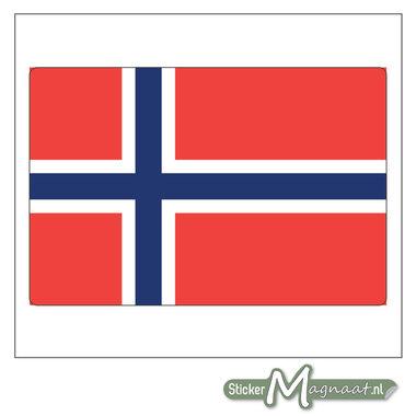 Vlag Noorwegen Sticker