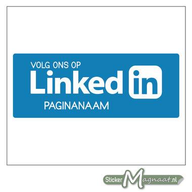 LinkedIn Sticker met eigen naam