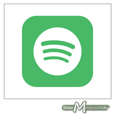 Spotify Logo Sticker