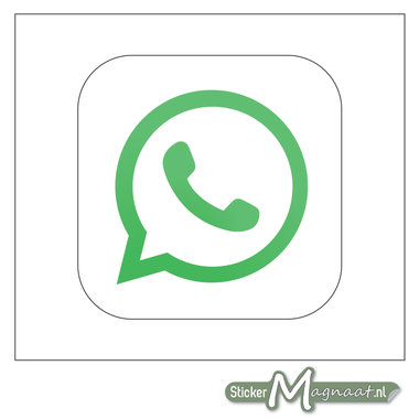 WhatsApp Logo Stickers