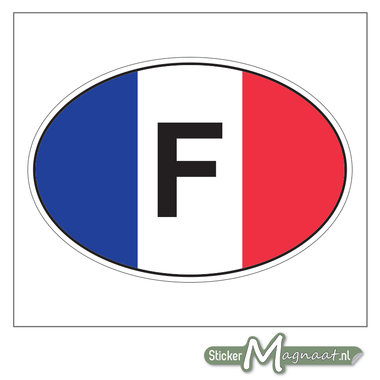 Auto Sticker Frankrijk