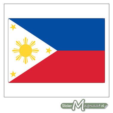 Vlag Filipijnen Sticker