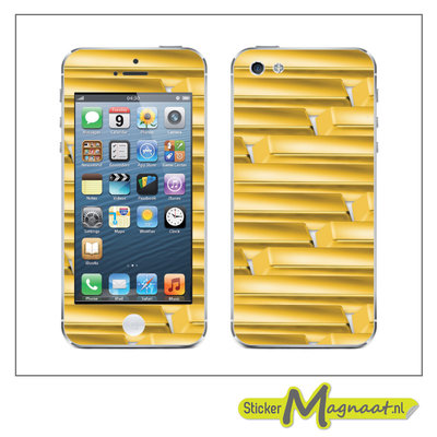 iPhone Stickers - Goud