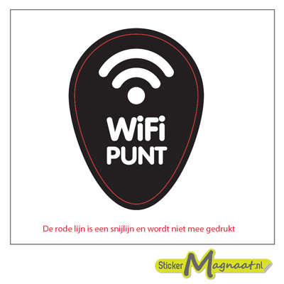 WiFi Punt Stickers