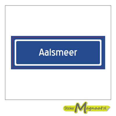 Sticker Aalsmeer