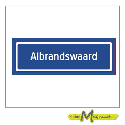 Sticker Albrandswaard