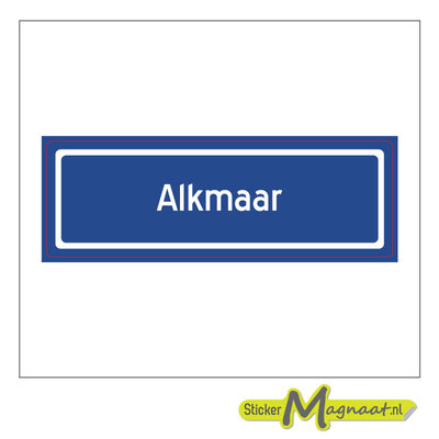 Sticker Alkmaar