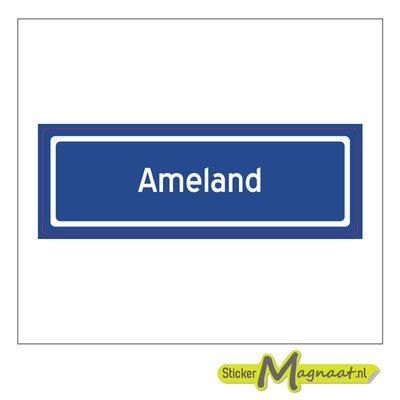 Sticker Ameland