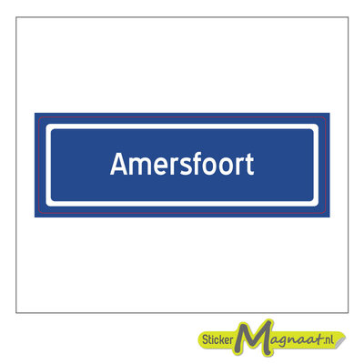Sticker Amersfoort