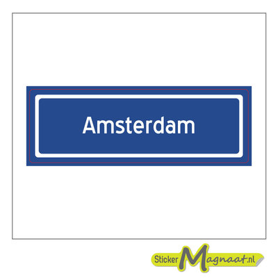 Sticker Amsterdam