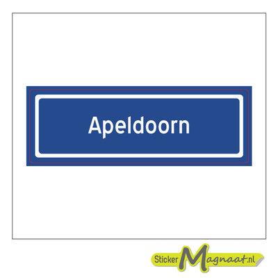 Sticker Apeldoorn