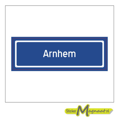 Sticker Arnhem