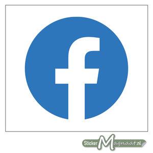 Facebook Logo Sticker - Rond