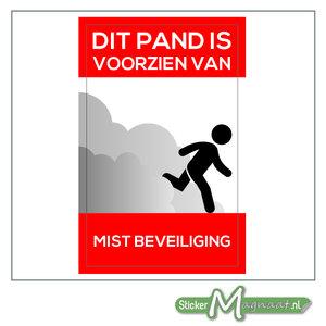 Mist Beveiliging Sticker