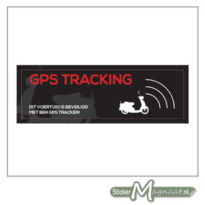 Scooter GPS Sticker