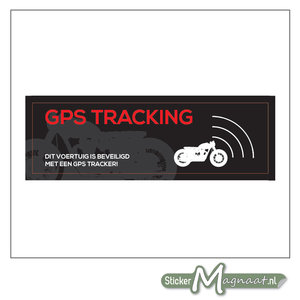 Motor GPS Sticker