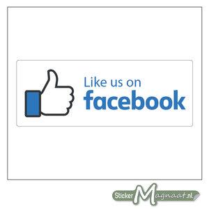 Like Us Facebook Sticker
