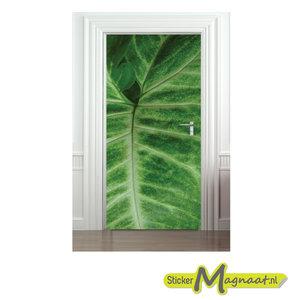 deurstickers plant