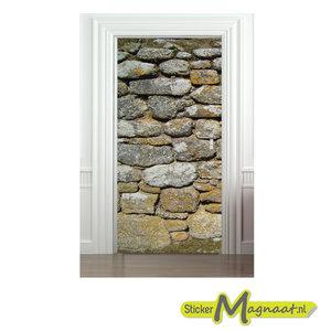 deurstickers steen