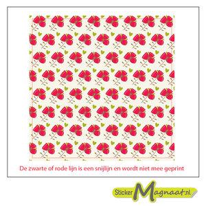 Tegelsticker Patroon Bloemen Kopen Stickermagnaat Nl