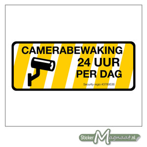 Camera Bewakingsstickers