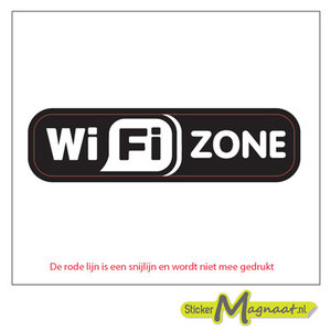 wifi zone stickers