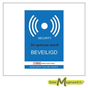 beveiliging stickers alarm