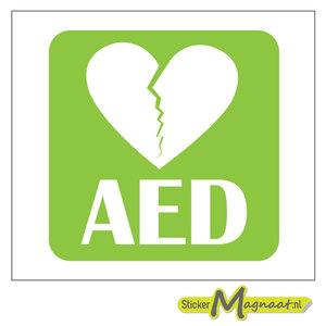 aed sticker kopen online stickers bestellen met gratis verzending vanaf 10. Black Bedroom Furniture Sets. Home Design Ideas