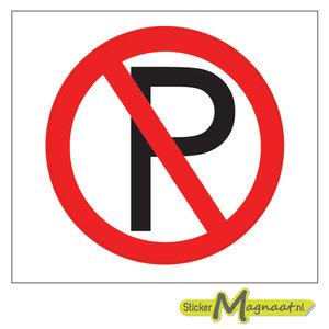 Verboden te Parkeren Stickers