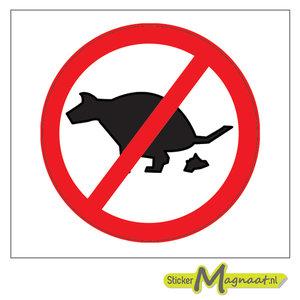 Verboden Honden Uit Te Laten Stickers Kopen