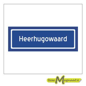 Sticker Heerhugowaard Kopen Stickermagnaat Nl