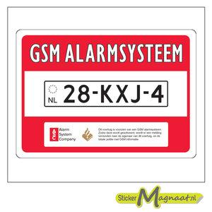 Auto Beveiliging Sticker
